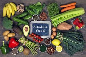 ارتقا سلامت با یک رژیم غذایی قلیایی شگفت انگیز
