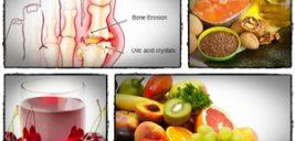 بهترین درمان های طبیعی برای بیماری نقرس