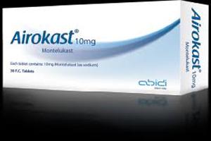 قرص ایروکاست مفید در درمان آسم و حساسیت های فصلی