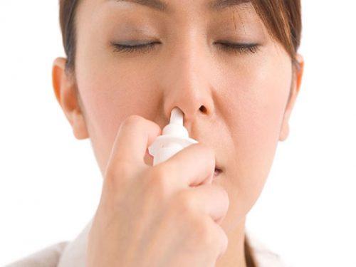 خشکی داخل بینی