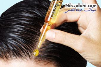 بهترین درمان ریزش مو