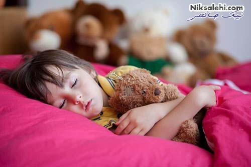 دیر خوابیدن کودکان