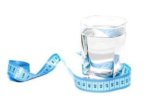 لاغری با نوشیدن صحیح آب