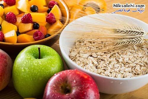 رژیم غذایی کاهش تری گلیسرید