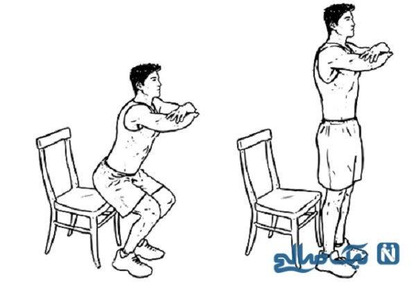 ورزش های مفید برای زانو