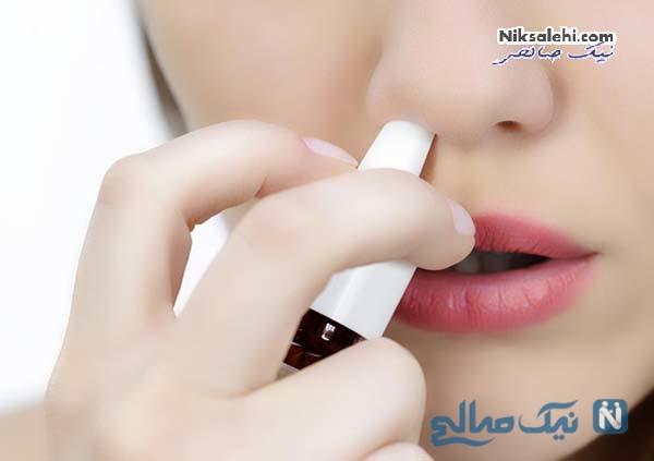 درمان خشکی بینی