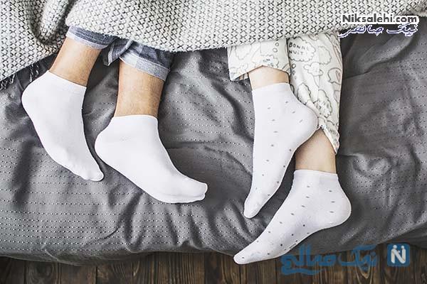 خوابیدن با جوراب چه فوایدی دارد