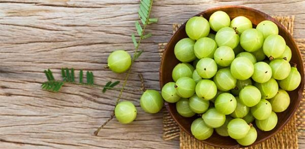 آملا میوه انگور فرنگی هندی