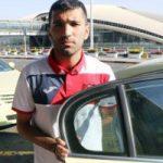 متلک سنگین هوادار خانم به محسن مسلمان در فرودگاه!