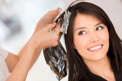 رنگ مو برای زنان باردار