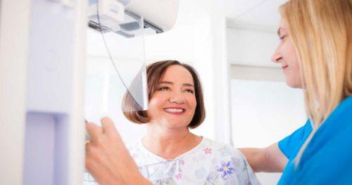 ماموگرافی در زنان