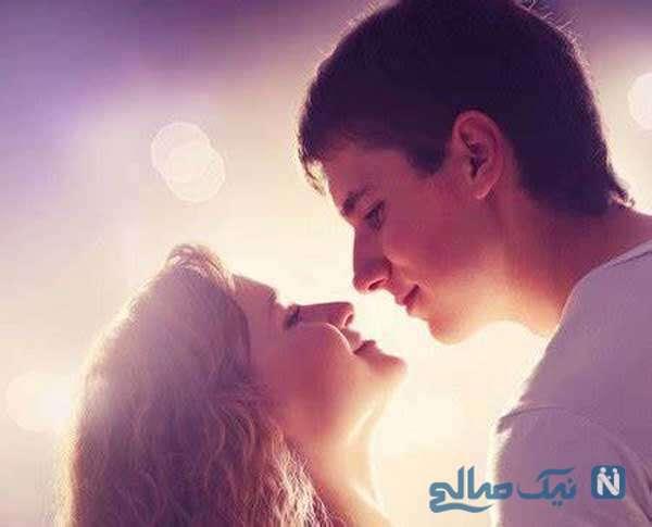 فواید بوسه در روابط زناشویی