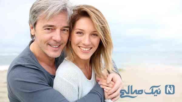 مشکلات اختلاف سنی زوجین