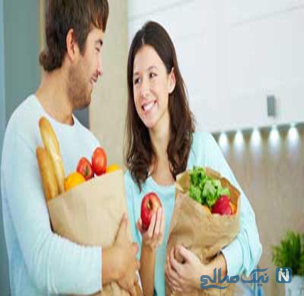 مواد غذایی مناسب بعد از رابطه