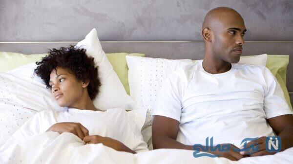 بی میلی مردان به همسر