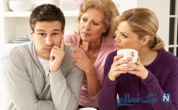 رابطه درست با خانواده همسر