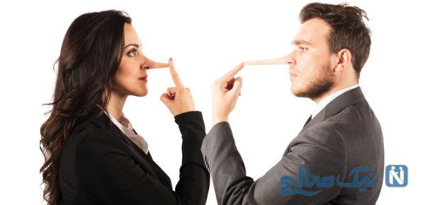 با دروغ گفتن همسر چه کار باید کرد؟!