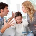 آسیب های مشاجره زن و شوهر بر روی خانواده!