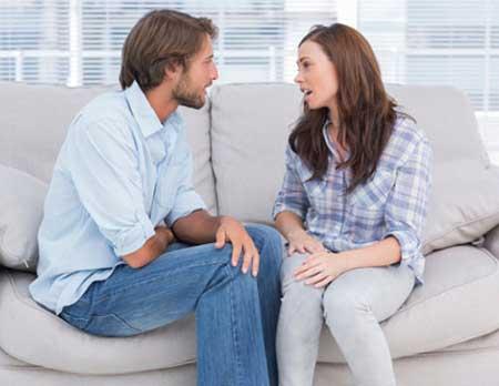 داشتن بحثی سالم با شریک زندگی