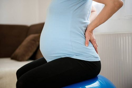 پیشگیری از درد کمر در حاملگی
