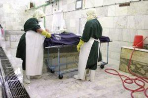 عکس مصاحبه: با ۲زن مرده شور تهران