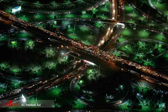 حال و هوای دیدنی «شب های تهران»!+تصاویر