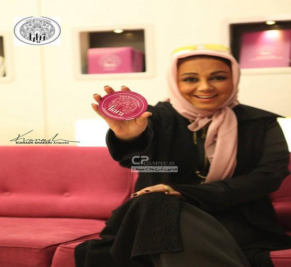 بهنوش بختیاری در سالن آرایشی زیبایی تیارا در تهران +تصاویر