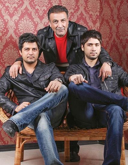 پسران صمیمی و موفق عبدالرضا اکبری!+عکس