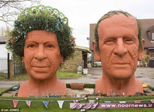 سیزده بدر با ملکه انگلیس! + تصاویر