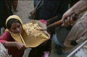 عکس هایی  دردناک از کمبود غذا در پاکستان