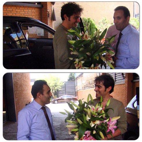 تبریک خاص از برند خودرویی که شهاب حسینی سوار می شود!+تصاویر