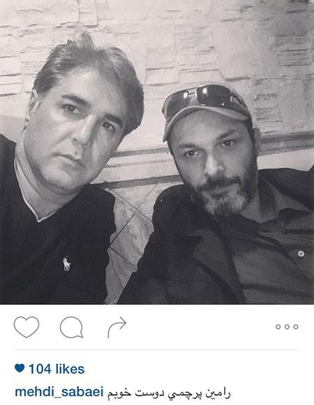 """رامین پرچمی بازیگر سریال به یاد ماندنی """"در پناه تو""""+تصاویر"""