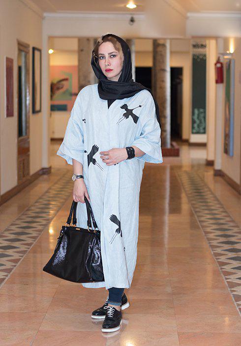 تیپ جدید آنا نعمتی بازیگر ۳۹ ساله سینما در خانه هنرمندان!+تصاویر