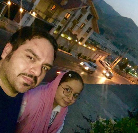 سلفی های دیدنی شهرام قائدی همراه با دخترش!+تصاویر
