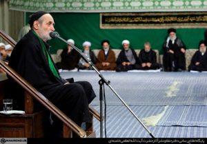 مراسم عزاداری شب تاسوعا با حضور رهبر انقلاب کشورمان!+تصاویر