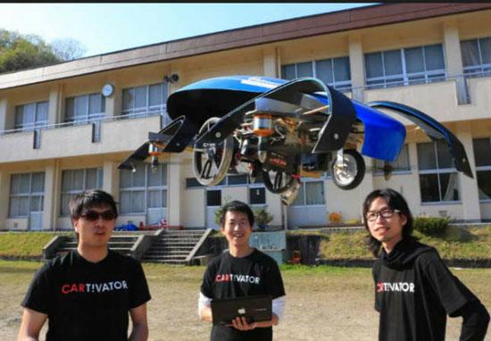 ساخت ماشین پرنده برای المپیک 2020 توکیو+تصاویر
