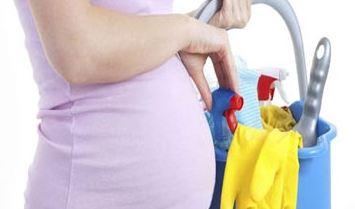 خانه تکانی در دوران بارداری چه مراقبت هایی نیاز دارد؟!