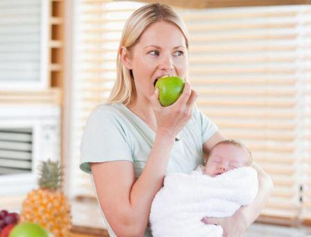 رژیم غذایی مفید برای مادران شیرده!