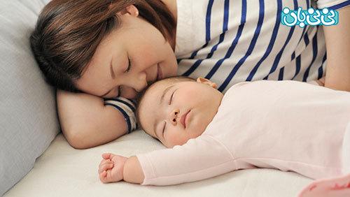 رفع اختلالات خواب در بارداری
