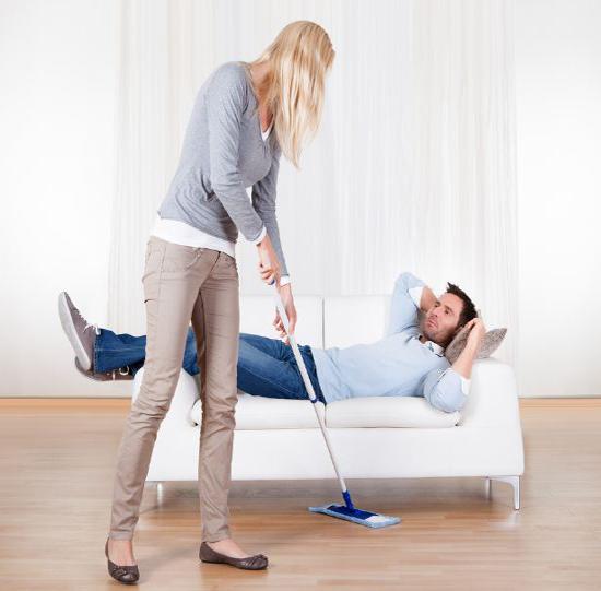 سیاست های زنانه برای کار کردن شوهر در خانه!
