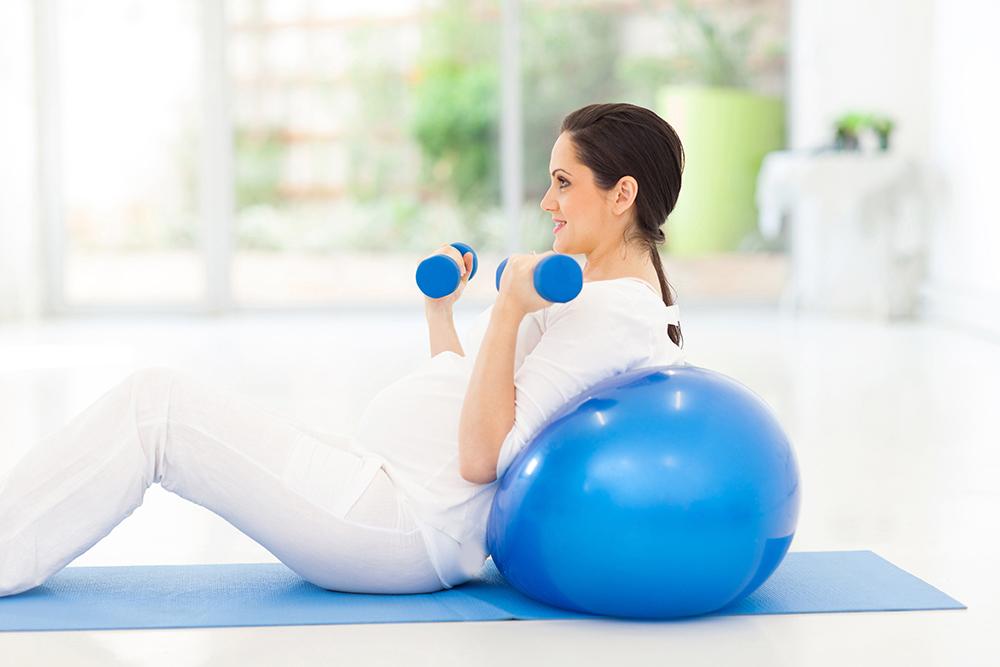 تاثیر فعالیتهای ورزشی در بارداری