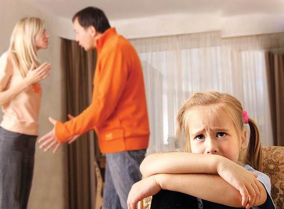 دخالت دادن فرزندان در مسائل خانوادگی