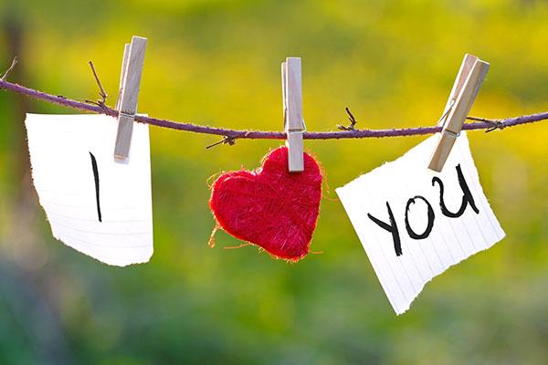گفتن جمله دوستت دارم
