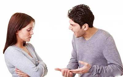 قاطع بودن در مقابل شوهر