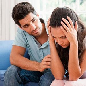 کاهش نگرانی همسر