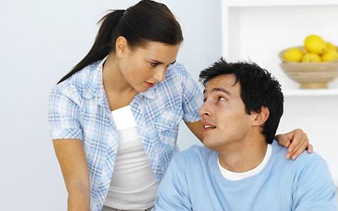 گوش دادن به همسر
