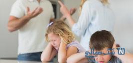 پیامدهای دعواهای مکرر زناشویی مقابل چشم فرزندان