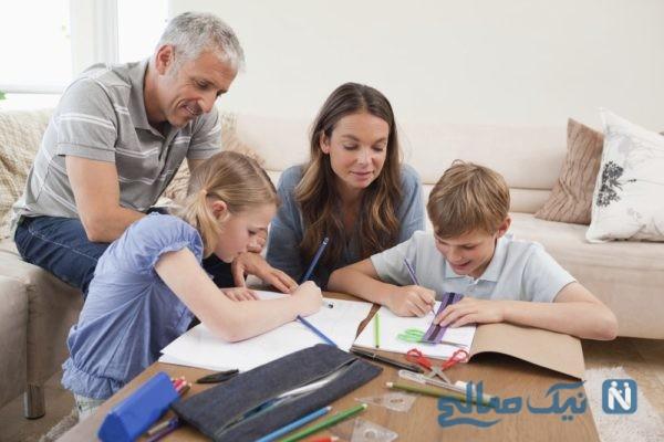 روابط کودکان با والدین