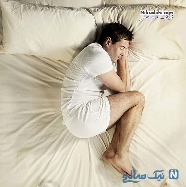 حالت خوابیدن و شخصیت