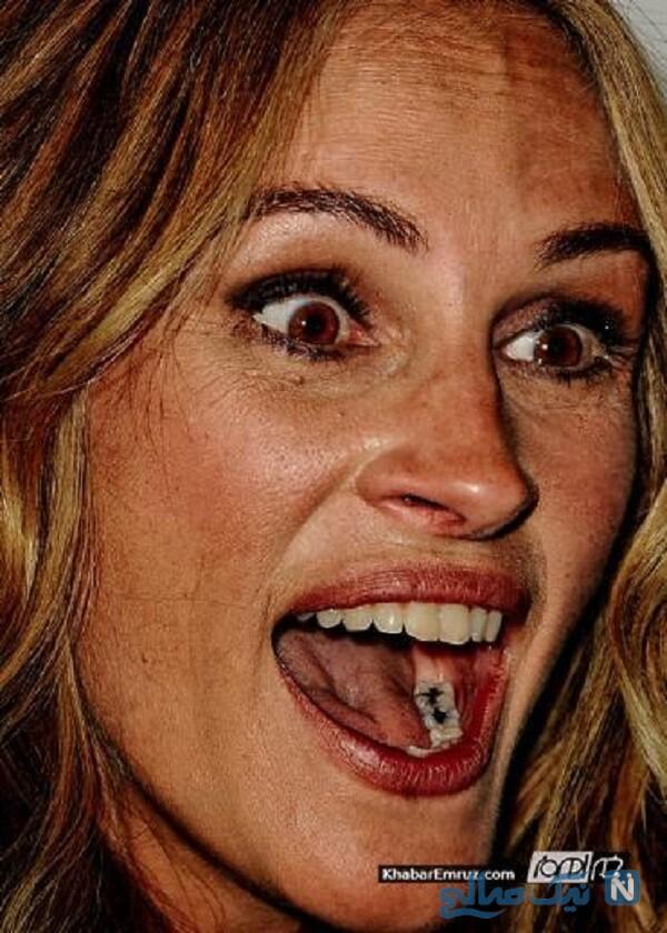 چهره زشت بدون آرایش زیباترین های هالیوود را ببینید و اعتماد به نفس بگیرید!
